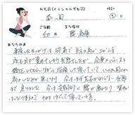 本間さん 50歳 男性